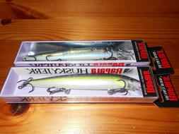 "Rapala Husky Jerks Model HJ-12 4 3/4"" Multi-Color Jerk Bait"