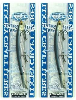 "Lucky Craft Saltwater Series 5/8 Oz 125F 5"" Jerkbait Metall"