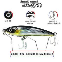 140m Sinking Stickbait Lure for Snook, Striped Bass and more