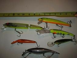 Bomber floating jointed minnow jerkbait fishing lures bass b