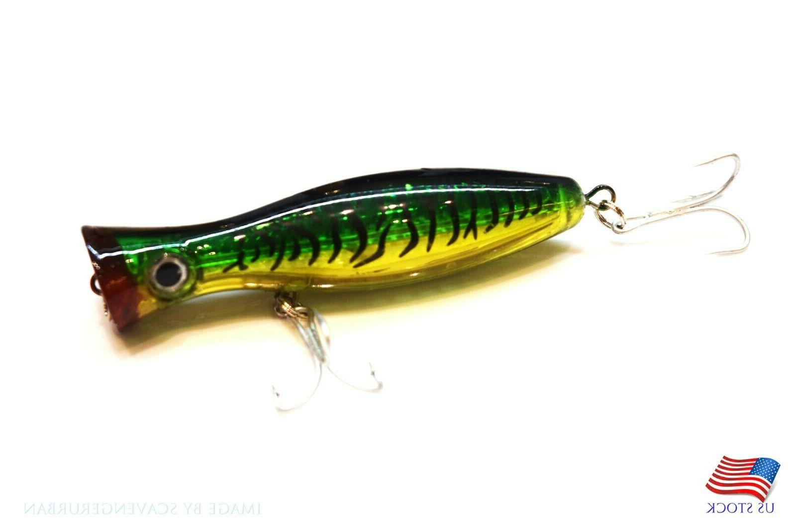 New Topwater Popper Lure Artificial Lure Offshore Fishing Bass,