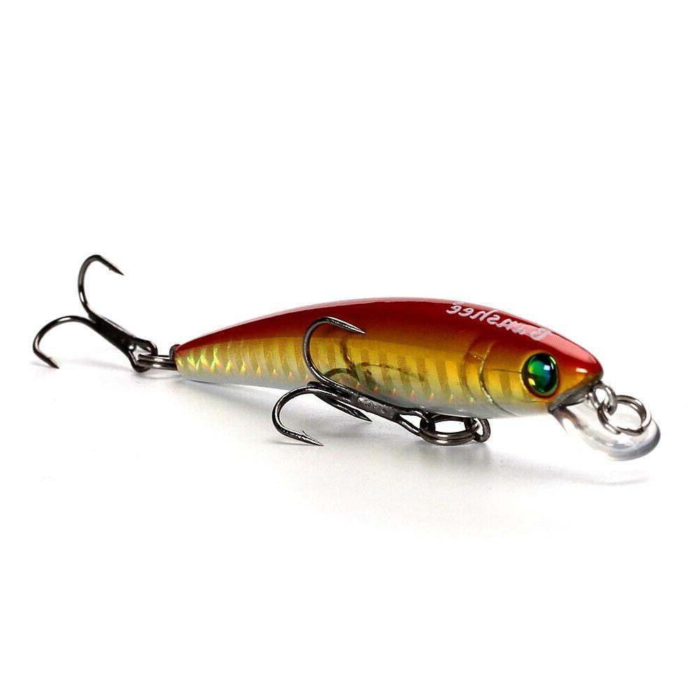 sinking minnow trout fishing lure artificial bait