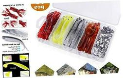 ODDSPRO Soft Fishing Lures for Bass, Paddle Tail Swimbaits,