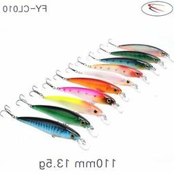 Portable 11CM/13.5g Jerkbait Durable Artificial Bait Univers