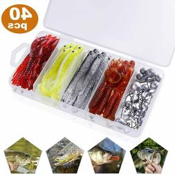Soft Fishing Lures for Bass, Paddle Tail Swimbaits, Soft Jer